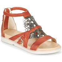 Sapatos Mulher Sandálias Mjus KETTA Tijolo / Prata