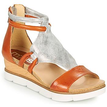 Sapatos Mulher Sandálias Mjus TAPASITA Tijolo / Prata