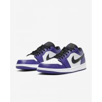 Sapatos Sapatilhas Nike Air Jordan 1 Low Court Purple Court Purple/White-Black