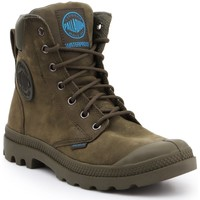 Sapatos Sapatilhas de cano-alto Palladium Manufacture Pampa Cuff WP LUX 73231309 oliwkowozielony