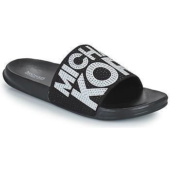 Sapatos Rapariga chinelos MICHAEL Michael Kors JETT JAE Preto