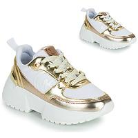 Sapatos Rapariga Sapatilhas MICHAEL Michael Kors COSMO SPORT Branco / Ouro