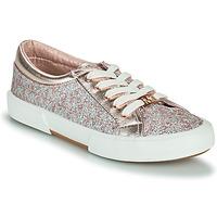 Sapatos Rapariga Sapatilhas MICHAEL Michael Kors IMA TINSEL Rosa / Ouro / Prata