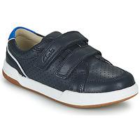 Sapatos Criança Sapatilhas Clarks FAWN SOLO K Marinho