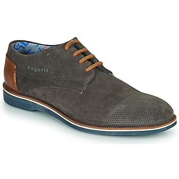 Sapatos Homem Sapatos Bugatti MELCHIORE Cinza / Escuro