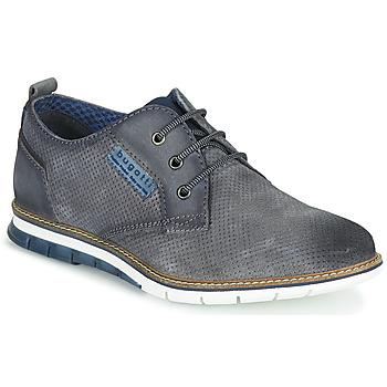 Sapatos Homem Sapatilhas Bugatti SANDMAN Cinza / Escuro