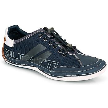 Sapatos Homem Sapatilhas Bugatti CANARIO Marinho