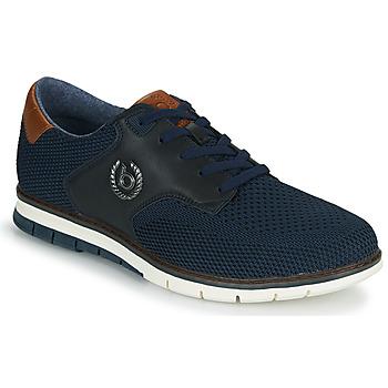 Sapatos Homem Sapatilhas Bugatti SANDMAN Marinho