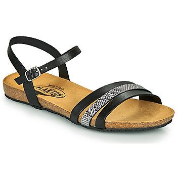 Sapatos Mulher Sandálias Plakton MAM ALOU Preto