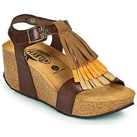 Sapatos Mulher Sandálias Plakton SO TONKA Castanho