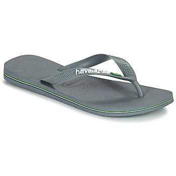 Sapatos Chinelos Havaianas BRASIL Cinzento