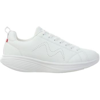 Sapatos Mulher Sapatilhas Mbt REN DE MULHERES LACE UP W SHOES BRANCO