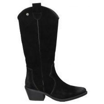Sapatos Mulher Botas Top3 BOTAS  20828 MODA JOVEN NEGRO Noir