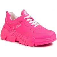 Sapatos Mulher Sapatilhas S.Oliver Fuxia Flat Shoes Pink