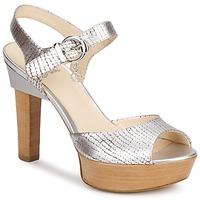 Sapatos Mulher Sandálias Fabi KAITE Prateado