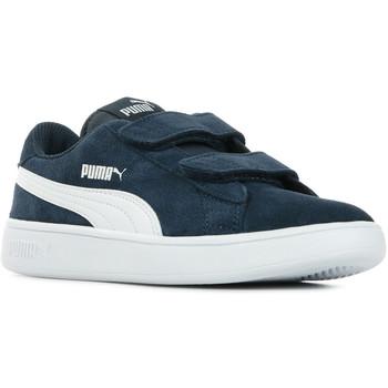 Sapatos Criança Sapatilhas Puma Smash V2 SD V PS Azul