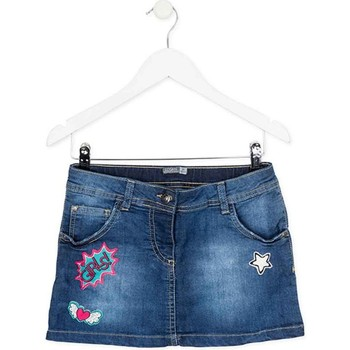 Textil Rapariga Saias Losan 724 7008AB Azul