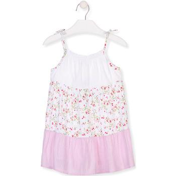 Textil Rapariga Vestidos curtos Losan 016-7030AL Branco