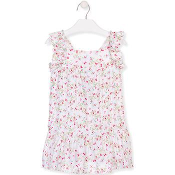 Textil Rapariga Vestidos curtos Losan 016-7031AL Branco