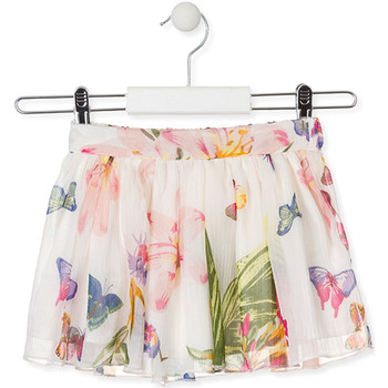 Textil Rapariga Saias Losan 016-7781AL Branco