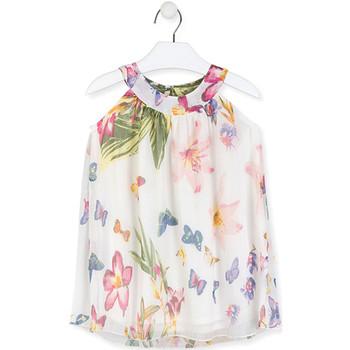 Textil Rapariga Vestidos curtos Losan 016-7793AL Branco