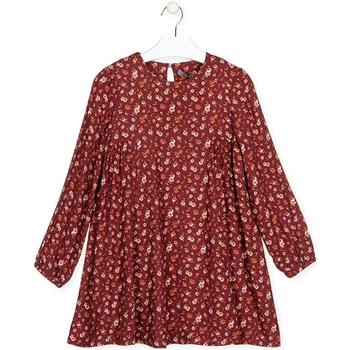 Textil Rapariga Vestidos curtos Losan 024-7016AL Vermelho
