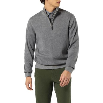 Textil Homem camisolas Dockers ALPHA PLAITED 1/4 ZIP B13 cinza