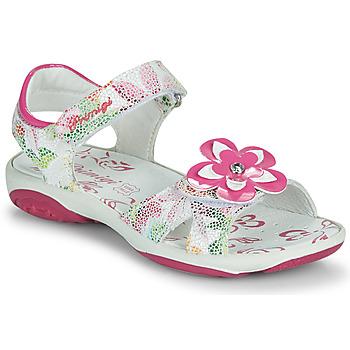 Sapatos Rapariga Sandálias Primigi SARAH Branco / Multicolor