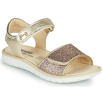 Sapatos Rapariga Sandálias Primigi CYRIELLE Ouro