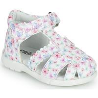 Sapatos Rapariga Sandálias Primigi NOEMIE Branco / Multicolor