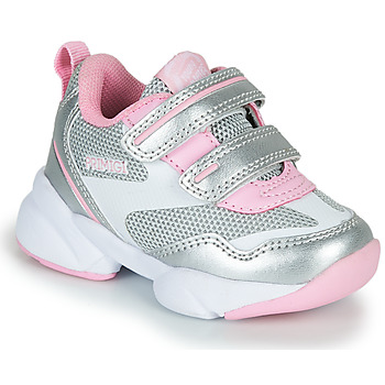 Sapatos Rapariga Sapatilhas Primigi SUZZI Prata / Rosa