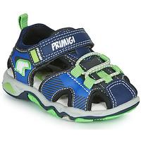 Sapatos Rapaz Sandálias desportivas Primigi DINNO Azul / Verde