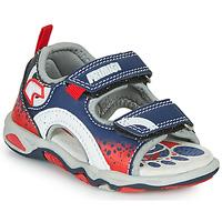 Sapatos Rapaz Sandálias Primigi FRANG Marinho / Vermelho