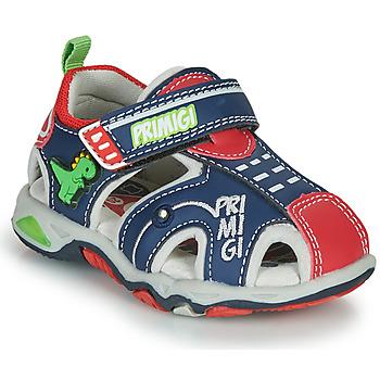 Sapatos Rapaz Sandálias desportivas Primigi ANIS Azul / Vermelho / Verde