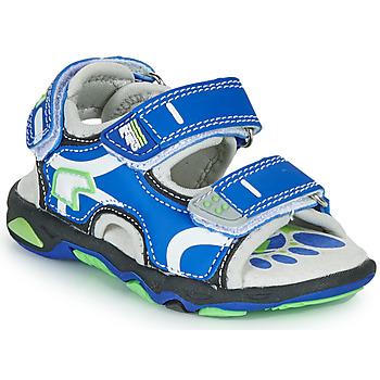 Sapatos Rapaz Sandálias Primigi YANIS Azul / Verde