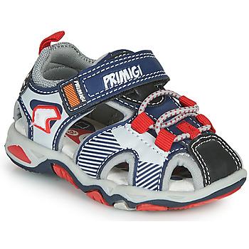 Sapatos Rapaz Sandálias desportivas Primigi HIMAN Cinza / Azul / Vermelho