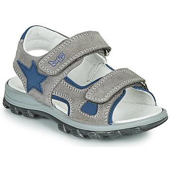 Sapatos Rapaz Sandálias Primigi GRIMMI Cinza / Azul