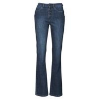 Textil Mulher Calças de ganga bootcut Ikks BS29135-45 Azul