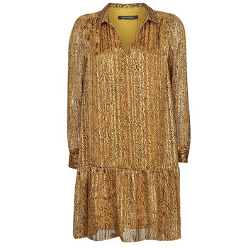 Textil Mulher Vestidos curtos Ikks BS30195-75 Âmbar