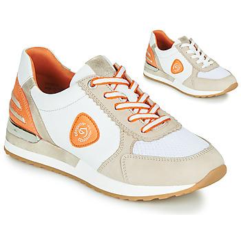 Sapatos Mulher Sapatilhas Remonte Dorndorf POLLUX Branco / Cinza / Laranja