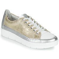 Sapatos Mulher Sapatilhas Remonte Dorndorf PHILLA Ouro / Prata