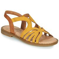 Sapatos Mulher Sandálias Remonte Dorndorf SANDA Amarelo / Castanho