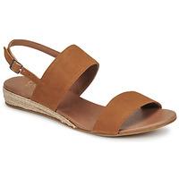 Sapatos Mulher Sandálias Casual Attitude OLIVE Camel