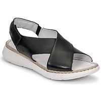 Sapatos Mulher Sandálias Casual Attitude ODILE Preto