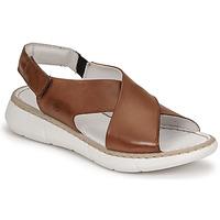 Sapatos Mulher Sandálias Casual Attitude ODILE Camel