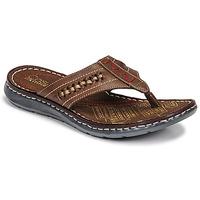 Sapatos Homem Chinelos Casual Attitude OPOM Castanho