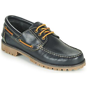 Sapatos Homem Sapato de vela Casual Attitude EVEROA Marinho