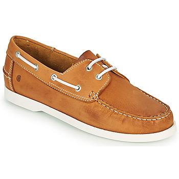 Sapatos Homem Sapato de vela Casual Attitude REVORO Camel