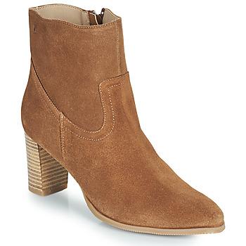 Sapatos Mulher Botins Casual Attitude OCETTE Camel