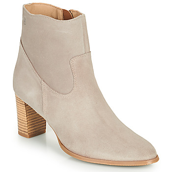 Sapatos Mulher Botins Casual Attitude OCETTE Bege
